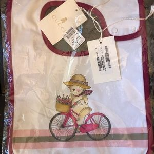 Gucci baby bib new with tags